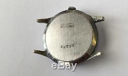 Vintage SEELAND Triple Date Calendar Watch 17 Jewels Swiss made Rare Fond Acier
