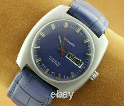 Vintage Sandoz Automatic Swiss Men's Working Wrist Watch Rare A0706