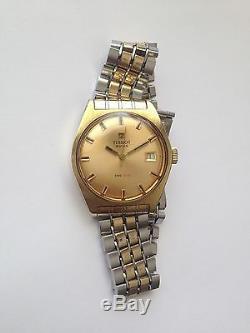 Vintage Swiss made 17 Jewels Tissot Watch PR 516 Omega Movement line 2461 RARE