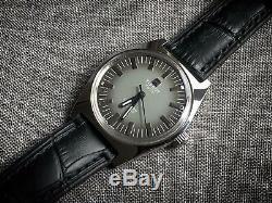 Vintage Tissot GREY SEASTAR Gents Manual Wind Watch, Rare, Swiss