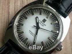 Vintage Tissot SEASTAR Grey 2/Tone Dial Gents Manual Wind Watch, Rare, Swiss