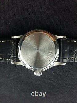 Vintage Tudor aqua (Rolex) Swiss winding working wrist watch rare 30.9mm case