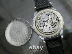 Vintage and Rare Tissot Watch Co 37 mm Sub Second 17 Jewels Swiss Wristwatch