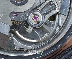 Vintage diver Rafor-bakelite bezel-automatic swiss-rare dial-drop seconds hand