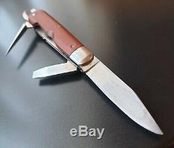 Vintage rare VICTORINOX VICTORIA P Original SWISS SOLDIER KNIFE Mod. 1908