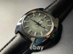 Vintage tissot seastar rare dial 17 jewels manual wind gents watch 36mm swiss