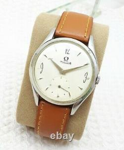 Vtg Omega Bumper Cal. 260 Sub Second Swiss Made Mens Wrist Watch Rare Swiss
