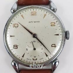 Wristwatch ALTO WATCH very rare Automatic Swiss Manual Vintage Art Deco Works
